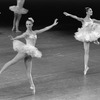 """New York City Ballet production of """"Symphony in C"""" with Sandra Jennings and Lourdes Lopez, choreography by George Balanchine (New York)"""