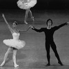 """New York City Ballet production of """"Symphony in C"""" with Debra Austin and Jean-Pierre Frohlich, choreography by George Balanchine (New York)"""