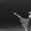 """New York City Ballet production of """"Opus 19/The Dreamer"""" with Patricia McBride and Helgi Tomasson, choreography by Jerome Robbins (New York)"""