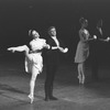 """New York City Ballet production of """"Ballet imperial"""", (""""Tchaikovsky Suite No. 2"""") with Kyra Nichols and Sean Lavery, choreography by Jacques d'Amboise (New York)"""