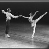 """New York City Ballet production of """"The Goldberg Variations"""" with Maria Calegari and Adam Luders, choreography by Jerome Robbins (New York)"""