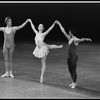 """New York City Ballet production of """"The Goldberg Variations"""" with Peter Frame, Judith Fugate and Jean-Pierre Frohlich, choreography by Jerome Robbins (New York)"""