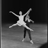 """New York City Ballet production of """"The Goldberg Variations"""" with Elyse Borne and Robert Maiorano, choreography by Jerome Robbins (New York)"""