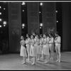 """New York City Ballet production of """"Piano Pieces"""" with choreography by Jerome Robbins (New York)"""