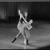 "New York City Ballet production of ""Hungarian Gypsy Airs"" with Karin von Aroldingen and Adam Luders, choregraphy by George Balanchine (New York)"