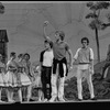 """New York City Ballet Production of """"The Magic Flute"""", Peter Martins demonstrates to Jock Soto, choreography by Peter Martins (New York)"""