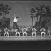 """New York City Ballet Production of """"The Magic Flute"""", Peter Martins wth young boys from the School of American Ballet, choreography by Peter Martins (New York)"""