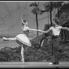 "New York City Ballet Production of ""The Magic Flute"", Peter Martins rehearses Darci Kistler, choreography by Peter Martins (New York)"