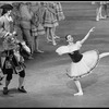 """New York City Ballet Production of """"The Magic Flute"""" with Katrina Killian as Lise, choreography by Peter Martins (New York)"""