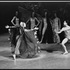 "New York City Ballet Production of ""Persephone"" with Vera Zorina and Gen Horiuchi, choreography by George Balanchine, John Taras and Vera Zorina (New York)"