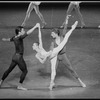 """New York City Ballet Production of """"Concerto for Two Solo Pianos"""" with Jock Soto, Heather Watts and Ib Andersen, choreography by Peter Martins (New York)"""