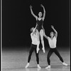"New York City Ballet production of ""Agon"" with Peter Frame, Maria Calegari and Kipling Houston, choreography by George Balanchine (New York)"