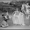 "New York City Ballet production of ""The Magic Flute"" with Frank Ohman, Florence Fitzgerald, Nina Fedorova and David McNaughton, choreography by Peter Martins (New York)"