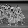 """New York City Ballet production of """"Piano Pieces"""", choreography by Jerome Robbins (New York)"""