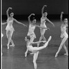 """New York City Ballet production of """"Concerto for Two Solo Pianos"""" with Heather Watts, choreography by Peter Martins (New York)"""
