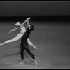 """New York City Ballet production of """"Concerto for Two Solo Pianos"""" with Heather Watts and Jock Soto, choreography by Peter Martins (New York)"""