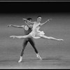 """New York City Ballet production of """"The Goldberg Variations"""" with Afshin Mofid and Melinda Roy, choreography by Jerome Robbins (New York)"""