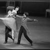 """New York City Ballet production of """"A Schubertiad"""" with Jock Soto, Stephanie Saland and David Otto, choreography by Peter Martins (New York)"""
