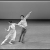 "New York City Ballet production of ""Dances at a Gathering"" with Victor Castelli and Stephanie Saland, choreography by Jerome Robbins (New York)"