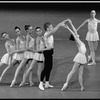 """New York City Ballet production of """"Concerto Barocco"""" with Heather Watts and Sean Lavery, choreography by George Balanchine (New York)"""