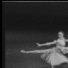 """New York City Ballet production of """"Tchaikovsky Pas de Deux"""" with Patricia McBride and Adam Luders, choreography by George Balanchine (New York)"""
