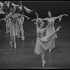 "New York City Ballet production of ""Menuetto"" with Maria Calegari, choreography by Helgi Tomasson (New York)"