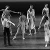 "New York City Ballet production of ""In Memory of..."" with Lisa Jackson lifted, choreography by Jerome Robbins (New York)"