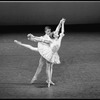 "New York City Ballet production of ""Les Petits Riens"" with Wendy Whelan and Richard Marsden, choreography by Peter Martins (New York)"