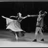 """New York City Ballet production of """"A midsummer Night's Dream"""" with Patricia McBride as Hermia and Nicholas Magallanes as Lysander, choreography by George Balanchine (New York)"""