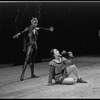 """New York City Ballet production of """"A Midsummer Night's Dream"""" with Arthur Mitchell as Puck and Nicholas Magallanes as Lysander, choreography by George Balanchine (New York)"""