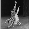 """New York City Ballet production of """"A Midsummer Night's Dream"""" with Patricia Wilde and Jacques d'Amboise, choreography by George Balanchine (New York)"""