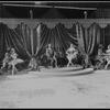 "New York City Ballet production of movie version of ""A midsummer Night's Dream""; wedding with Patricia McBride & Nicholas Magallanes, Gloria Govrin & Francisco Moncion, Mimi Paul & Roland Vazquez, choreography by George Balanchine (New York)"