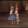 """New York City Ballet production of """"Tricolore"""" with Renee Estopinal and Joseph Duell, this section choreographed by Peter Martins (New York)"""