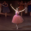 """New York City Ballet production of """"Tricolore"""" with Merrill Ashley, this section choreographed by Jean-Pierre Bonnefous (New York)"""