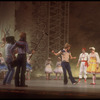 """New York City Ballet production of """"Tricolore"""", Peter Martins rehearsing Colleen Neary during filming (New York)"""