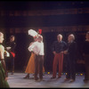 """New York City Ballet production of """"Tricolore"""", Jerome Robbins with designer Rouben Ter-Arutunian, George Balanchine and Jean-Pierre Bonnefous (New York)"""
