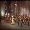 """New York City Ballet production of """"Tricolore"""", company bow, choreography by Peter Martins, Jean-Pierre Bonnefous and Jerome Robbins (New York)"""