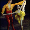 """New York City Ballet production of """"Scherzo Fantastique"""" with Gelsey Kirkland and Bart Cook, choreography by Jerome Robbins (New York)"""