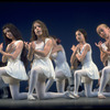 """New York City Ballet production of """"Choral Variations on Bach's Von Himmel Hoch"""" with students from the School of American Ballet, choreography by Jerome Robbins (New York)"""