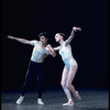 """New York City Ballet production of """"Symphony in Three Movements"""" with Sara Leland and Edward Villella, choreography by George Balanchine (New York)"""