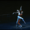 """New York City Ballet production of """"Concerto for Two Solo Pianos, with Heather Watts and Ib Andersen, choreography by Peter Martins (New York)"""