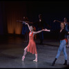 "New York CIty Ballet Production of ""Hungarian Gypsy Airs"" with Karin von Aroldingen and Adam Luders, choreography by George Balanchine (New York)"