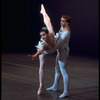 "New York City Ballet production of ""Chaconne"" with Daniel Duell and Muriel Aasen, choreography by George Balanchine (New York)"