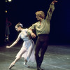 "New York City Ballet production of ""Dances at a Gathering"" with Stephanie Saland and Peter Martins, choreography by Jerome Robbins (New York)"