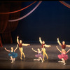 """New York City Ballet production of """"Variations from Don Sebastian"""", with Hester Fitzgerald and Richard Rapp, Suki Schorer and William Weslow, Victoria Simon and Michael Lland, choreography by George Balanchine (New York)"""