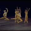 "New York City Ballet production of ""Fanfare"" with Daniel Duell (2nd R), choreography by Jerome Robbins (New York)"