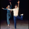 "New York City Ballet production of ""Prelude, Fugue and Riffs"" with John Clifford and Linda Merrill, choreography by John Clifford (New York)"