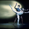"New York City Ballet production of ""Metastaseis and Pithoprakta"" with Suzanne Farrell and Arthur Mitchell, choreography by George Balanchine (New York)"