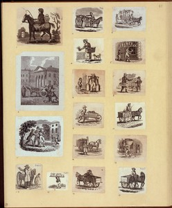 [Rural life, carts and horses.]