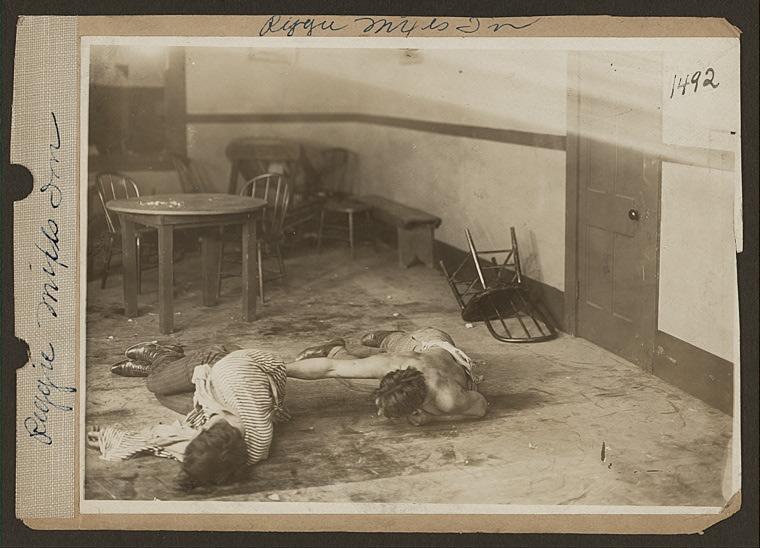 Reggie mixes in (Cinema 1916)